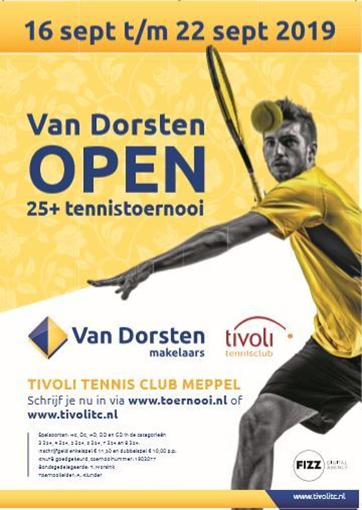 Van Dorsten Open 2019 25+
